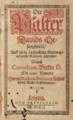 Cornelius Becker Der Psalter Davids Gesangweis (1602).png
