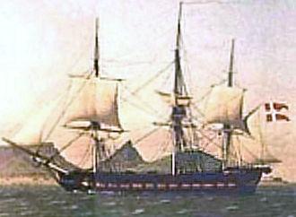 Galathea expeditions - The corvette Galathea (1833-1861)