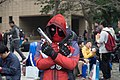 Cosplayer of Deadpool, the X-Men at CH1 20160220b.jpg