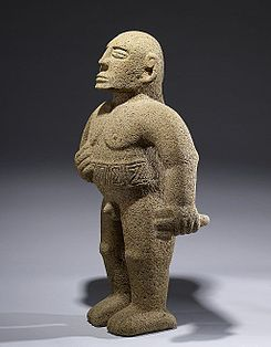 Costa Rican - Warrior Figure - Walters 20092025 - Three Quarter Left.jpg