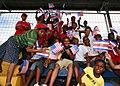 Costa Rican children welcome Marines (4941452289).jpg