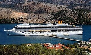 <i>Costa Luminosa</i> Cruise ship