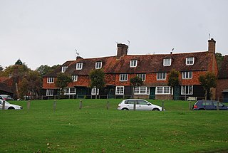 Groombridge village in the United Kingdom