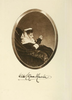 The frontispiece to the book My Memories, with a photograph of Wilhelmina, Countess Munster