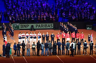 Davis Cup - 2018 Davis Cup Final - opening ceremony