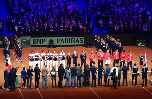 2018 Davis Cup Final – opening ceremony.