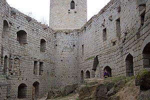 Château d'Andlau - Inner courtyard