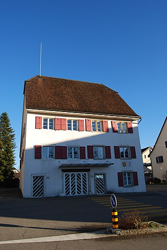 Courroux - Municipal administration building