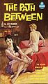 Cover of The Path Between by Jay Warren - Illustration by Paul Rader - Midwood 72 1961.jpg