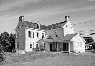 Craven Hall - Rear elevation