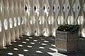Crematorium planters City of London Cemetery and Crematorium, Newham, England 4.jpg