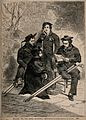 Crimean War; wounded sailors convalescing at Haslar Hospital Wellcome V0015425.jpg