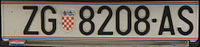 Croatian registration 3012.JPG