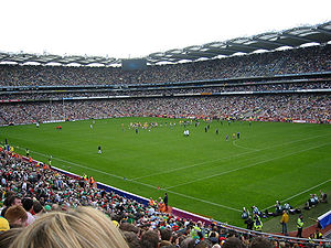 Pitch (sports field) - Image: Croke park all ireland