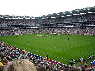 Pitch (sports field) - Image: Croke park all ireland
