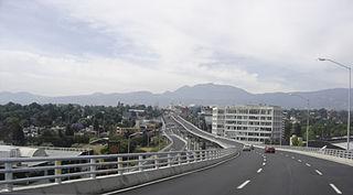 Anillo Periférico highway in Mexico