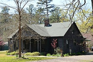 National Register of Historic Places listings in Ashley County, Arkansas - Image: Crossett Experimental Forest Building No. 8