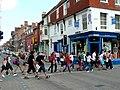 Crossing as one - geograph.org.uk - 1372591.jpg