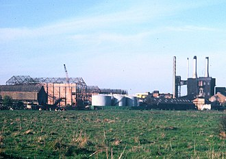 John Dickinson Stationery - Croxley Paper Mills (demolished 1982)