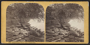 Plattsburgh (town), New York - Cumberland Head on Lake Champlain