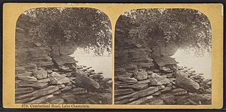 Plattsburgh (town), New York - Cumberland Head on Lake Champlain