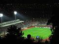 Curico, partido desde el cerro Condell, Estadio La Granja (9044315845).jpg