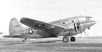 438th Air Expeditionary Wing - C-46D of the AF Reserve