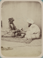 Customs of Central Asians. Entertaining with Tea WDL10838.png