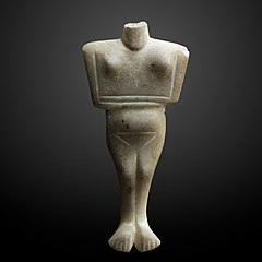 Cycladic idole-MAHG 006150