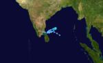 Cyclone 08B 1987 track.png