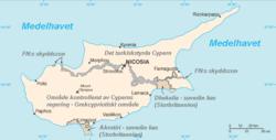 karta cypern turkiet Cypern – Wikipedia karta cypern turkiet