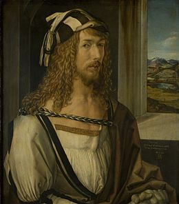 Dürer, Albrecht - Self-Portrait (Madrid) - 1498.jpg