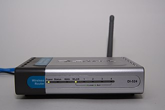 Wireless router - An early specimen of a wireless router