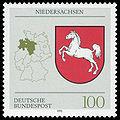 DBP 1993 1662 Wappen Niedersachsen.jpg