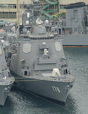 AN/SPY-1 - JS ''Ashigara'' (DDG-178) with AN/SPY1D(V)