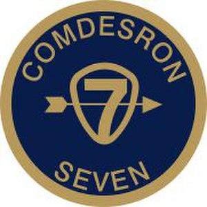 Destroyer Squadron 7 - DESRON 7 Emblem