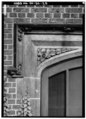 DETAIL OF TRIM SURROUNDING WEST (MAIN) ENTRANCE - Stan Hywet Hall, 714 North Portage Path, Akron, Summit County, OH HABS OHIO,77-AKRO,5-25.tif