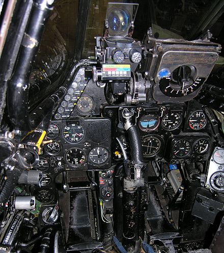 Cockpit layout of the Vampire FB.6 DH-115 MK 55 Vampire cocpit.jpg