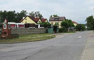 Domaniew, Masovian Voivodeship - Image: DOMANIEWEK 03