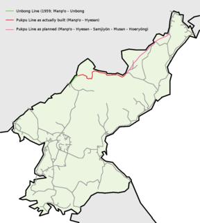 Pukbunaeryuk Line railway line