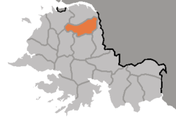 Location of Anak County