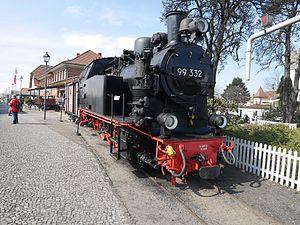 Light railway - Image: DRG 99 332 in Bad Kühlungsborn West