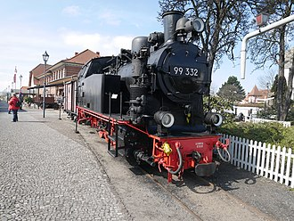 Light railway - Image: DRG 99 332 in Bad Kühlungsborn West