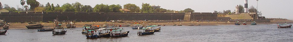 Dadra and Nagar Haveli view from sea side