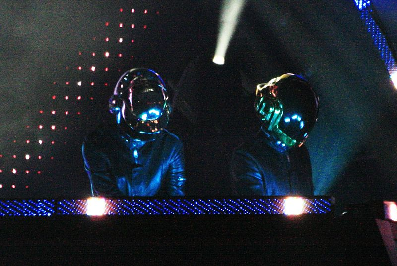 Daft Punk at O2 Wireless Festival