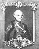 Portrait of Wurmser, clad in a hussar uniform