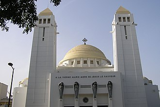 Dakar Cathedral Dakar cathedrale.jpg