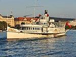Dampfschiff Stadt Rapperswil - Bürkliplatz 2013-08-29 19-17-16 (P7700).JPG