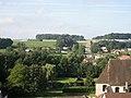 Dampierre-sur-Salon, département de la Haute-Saône, France. View to the south-west from the Hôtel de la Tour. - panoramio.jpg