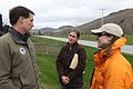 Dan Ashe speaks with White River Partnership staff at riparian restoration site (7124465405).jpg